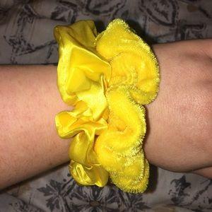 Accessories - Handmade Scrunchie Set- Sunshine